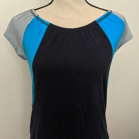 Calvin Klein Jeans Tops - Calvin Klein Jeans women's tri-color shirt